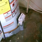 Fixing a Leaking Water Heater